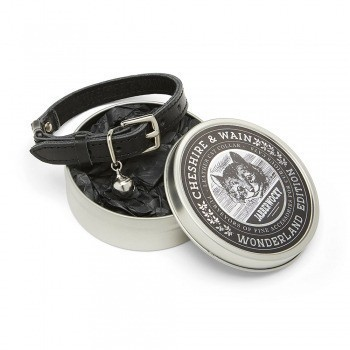 Cat collar gift tin Black