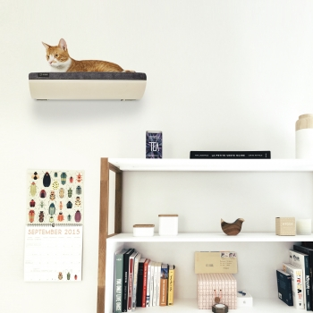 Make them Roar designer cat shelf safe vertical wall space for cats 27