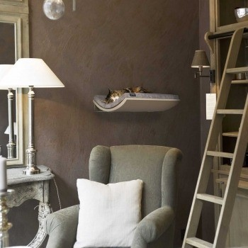 Make them Roar designer cat shelf safe vertical wall space for cats 39