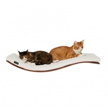 Wall-mounted wave shelf SOFT DELUXE 2
