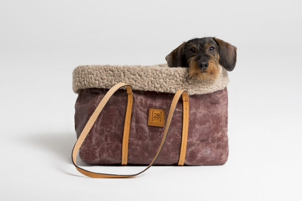 Make them Roar dog carrier made from natural environmentally friendly material 4