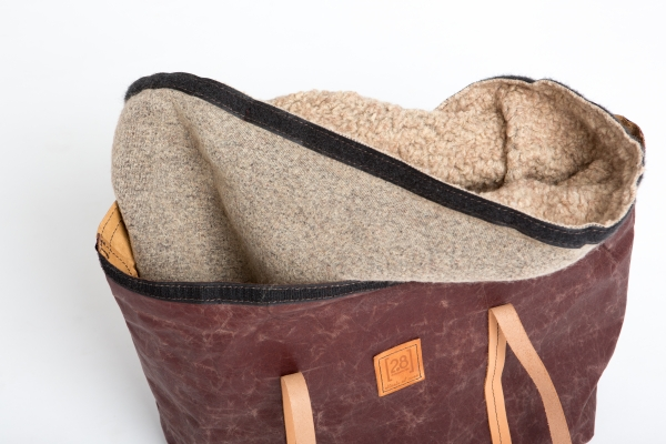Make them Roar dog carrier made from natural environmentally friendly material 11