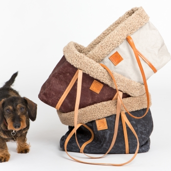 Make them Roar dog carrier made from natural environmentally friendly material 10