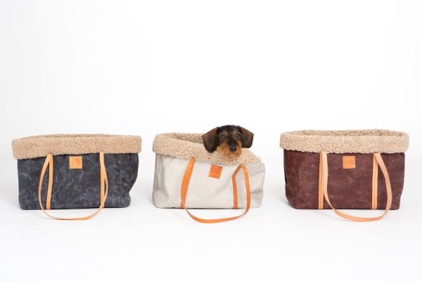 Make them Roar dog carrier made from natural environmentally friendly material 9