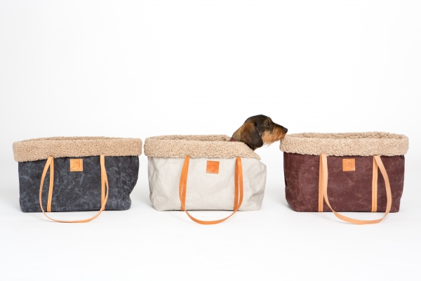 Make them Roar dog carrier made from natural environmentally friendly material 8