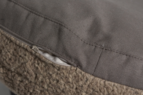 Make them Roar Dog bed with reversible cushion, natural fibres, casual look 13