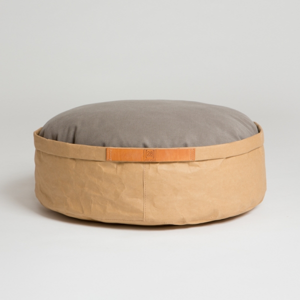 Make them Roar Dog bed with reversible cushion, natural fibres, casual look 8
