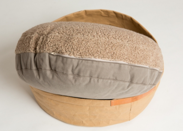 Make them Roar Dog bed with reversible cushion, natural fibres, casual look 5