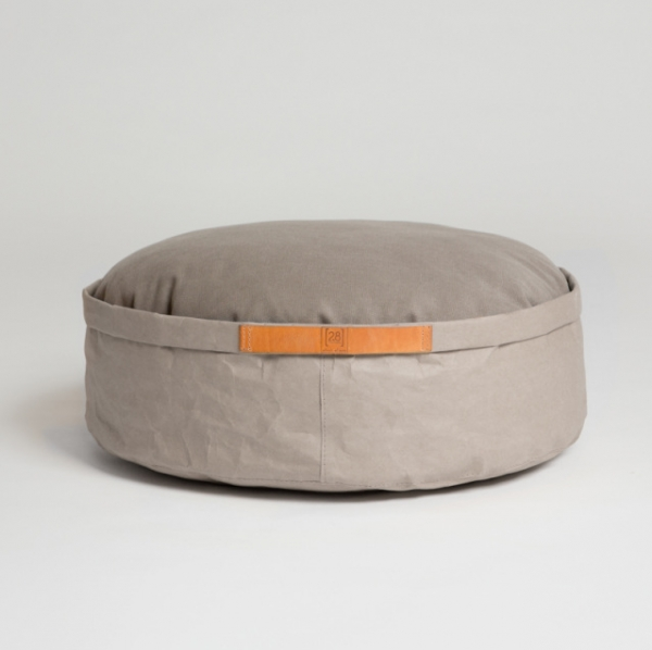 Make them Roar Dog bed with reversible cushion, natural fibres, casual look 4