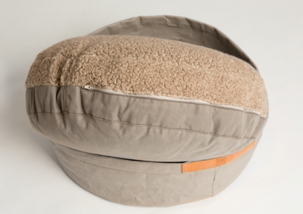 Make them Roar Dog bed with reversible cushion, natural fibres, casual look 2