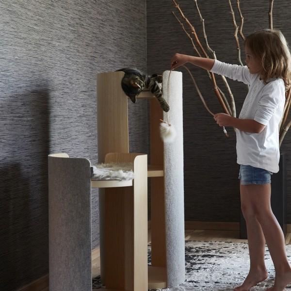 large cat scratching tower Make them Roar contemporary cat furniture 5