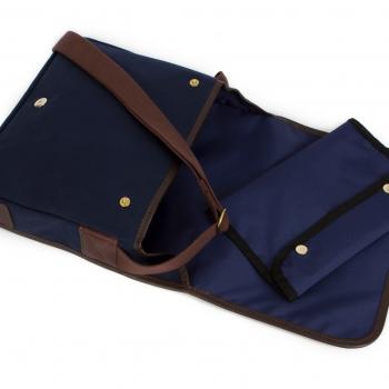 blue dog walking bag 2