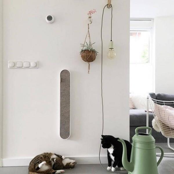 slim wall-mounted cat scratcher 5
