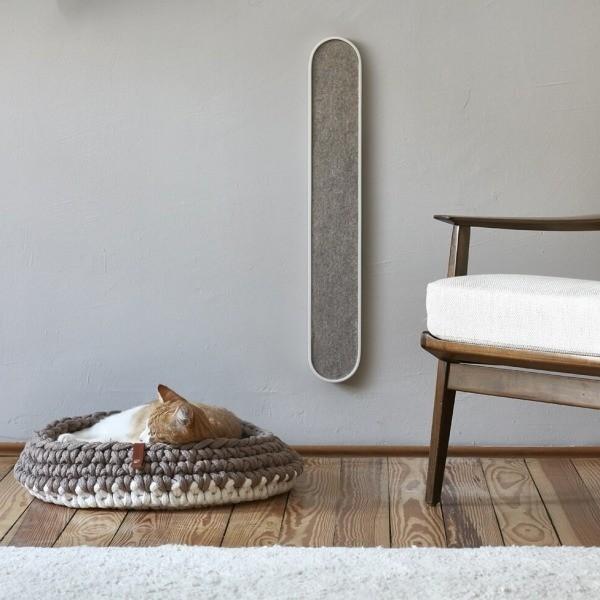 slim wall-mounted cat scratcher 4