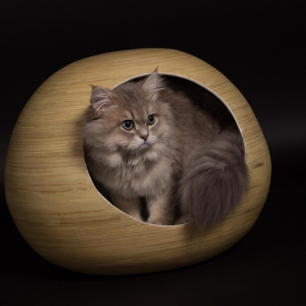 Black bamboo cat ball 3