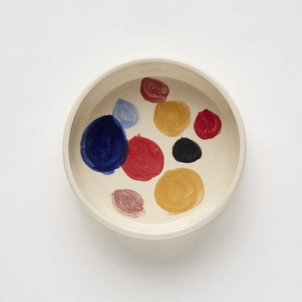 ceramic dog water and food bowl 1