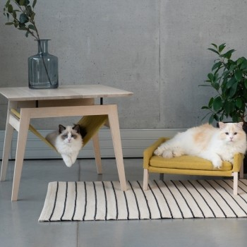 Cat hammock table and cat sofa | Lulu & Kikko