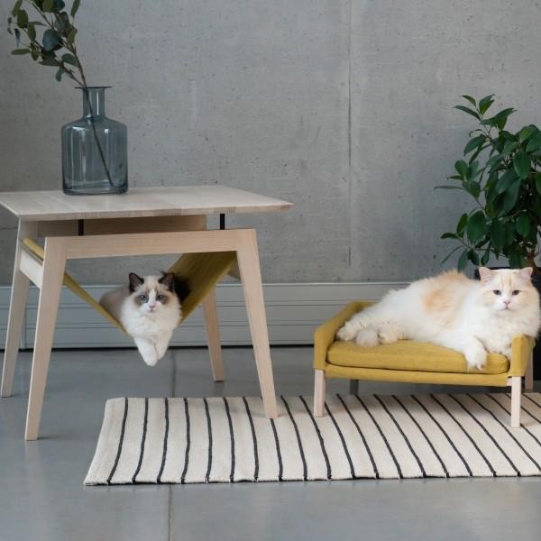 Cat hammock table and cat sofa | Lulu & Kikko