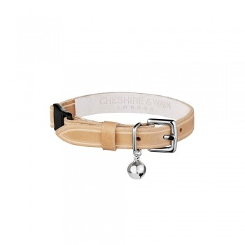 Luxury leather cat collar 5