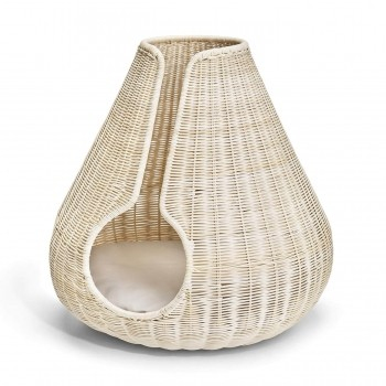 Luxurious rattan cat cave PERLA