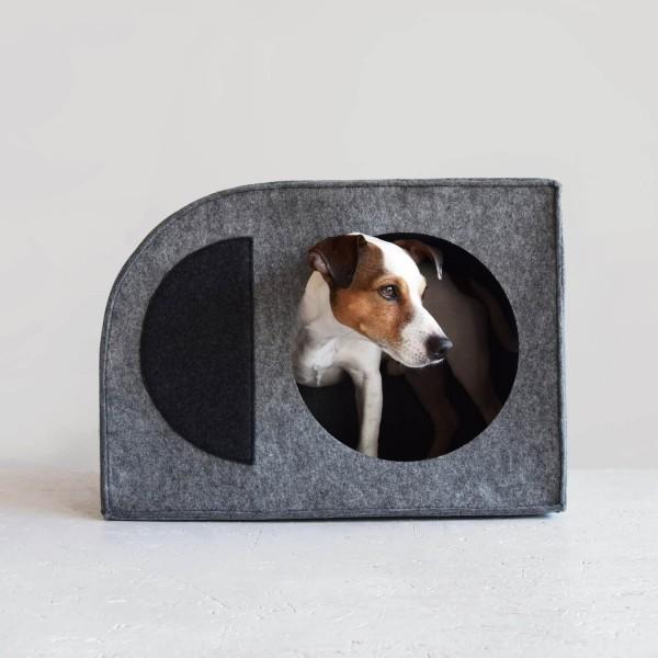 Modernist Bauhaus dog house 3