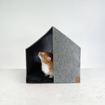 Modern felt dog house GOOD MORNING