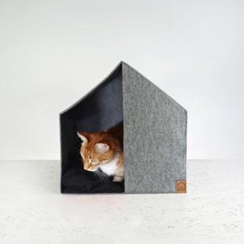 Modern felt dog house GOOD MORNING