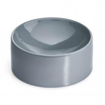 MiaCara Fresco porcelain drinking bowl CONCRETE