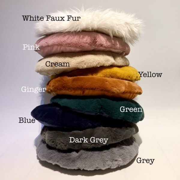 Raised pet bed from recycled felt 1