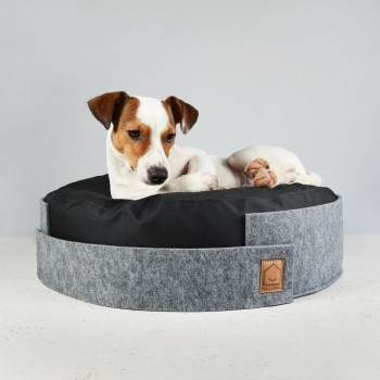Small round felt bed NAP