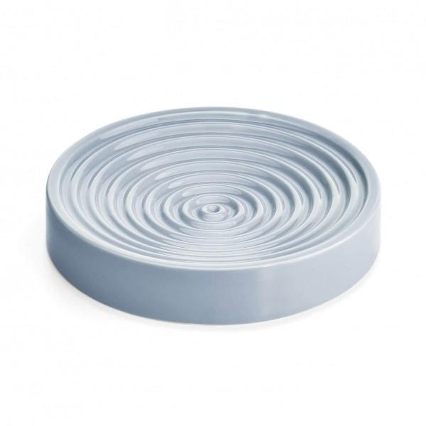 MiaCara Piatto whisker-friendly slow-feeder bowl CONCRETE