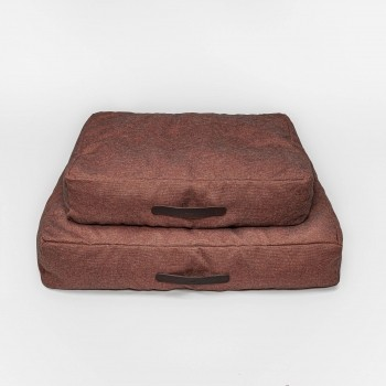 Cloud7 dog cushion HOMEY Mélange Burgundy