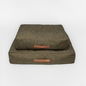 Cloud7 dog cushion HOMEY Mélange Olive