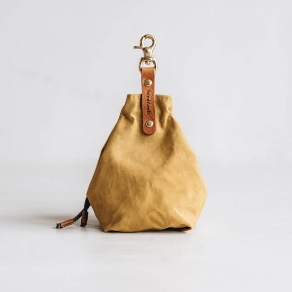Yellow canvas treat bag YORK