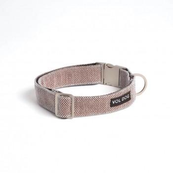 Kvadrat fabric dog collar SCOOT CASTAÑO
